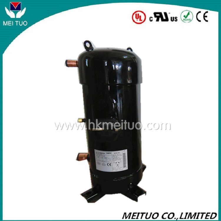 4HP Low price hermetic Sanyo scroll compressor model C-SB303H9G for air conditioning, sanyo refrigeration