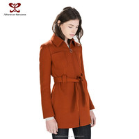 2016 Spring Fashion Overcoat For Women,Lady Long Sleeve Coat,Trench Coat