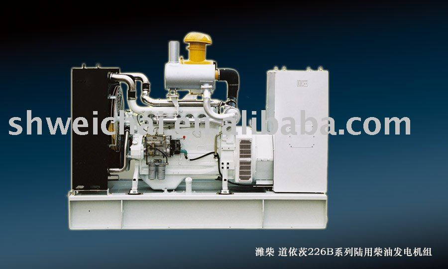 weichai deutz 226B marine diesel engine genetating set