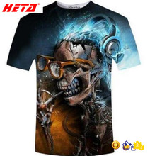 2017 brand new Thai quality sublimation t-shirt unique design 3D effect custom printed tshirts
