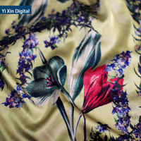 Hot selling printed lycra fabric with low price