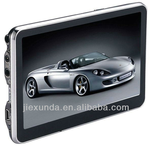 5 inch Car GPS Navigator Navigation without Bluetooth 4GB memorey load 3D Map