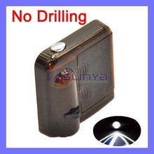 2 Mintues Auto Off 3 Color Wireless LED Door Courtesy Light With Car Logo