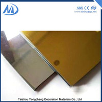 Excellent hot selling mirror alucobond