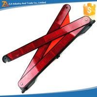 Traffic Safety Tools Portable Folding Traffic Sign Reflective Warning Triangle For Car Accessories