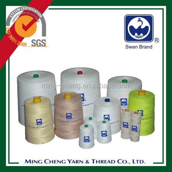 Polyester close bag sewing thread manufacture in Taiwan
