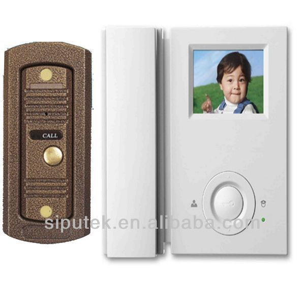 outside access panel with night vision COMS color video door phone intercom for outdoor staion