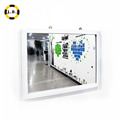 Hot Sale Plastic Frame Material and High Reflective Large Wall Mirror