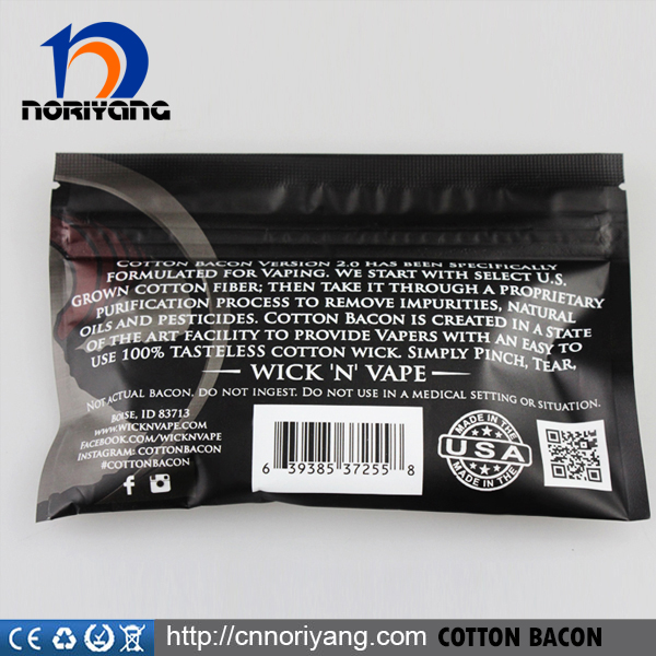 High Quality COTTON BACON 2.0 USA Pure Bacon Cotton By Wick N Vape