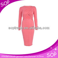 Latest pink dress designs photos for ladies