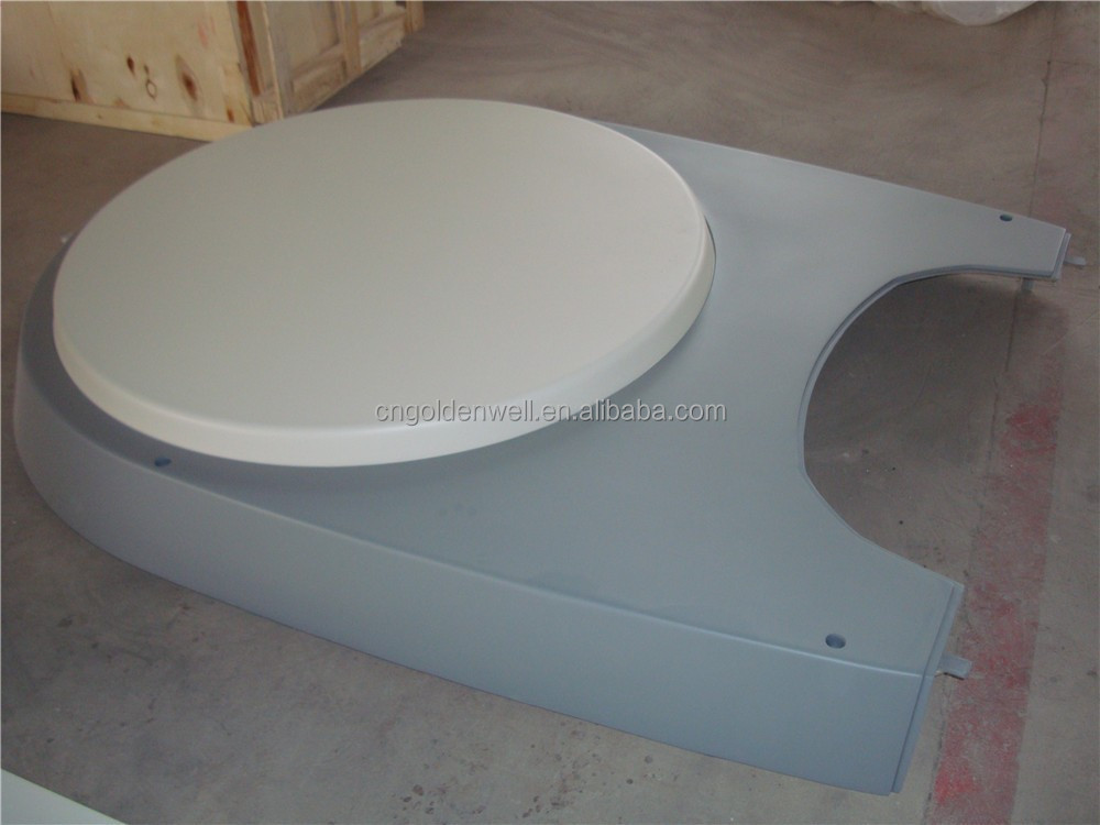 fiberglass medical machinery cover MRI scanner assembly components China supplier