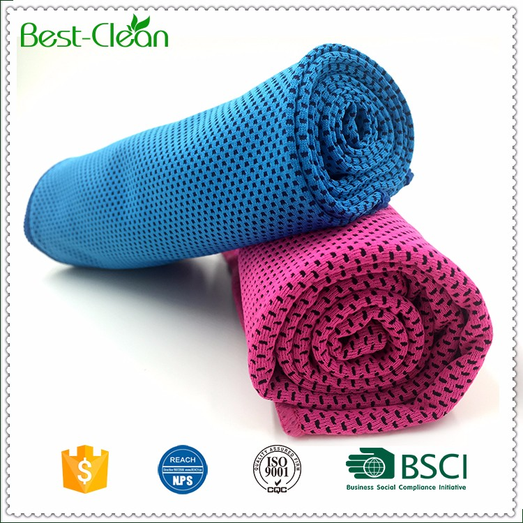 Customized Snap Microfiber Cooling Towel