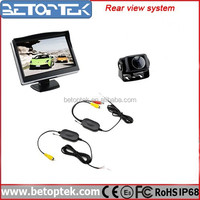 Wireless Transmitter and Receiver Wireless Car Rearview Camera System