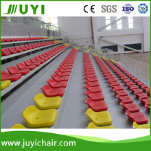 JY-706 Table Tennis Sports Stadium Durable Telescopic Grandstand Seat Bleachers Dimensions