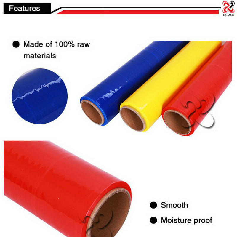 PE PVC wrapping roll for silage