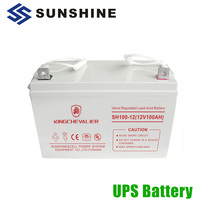 Small And Large UPS Solar 12V 100Ah Deep Cycle Battery