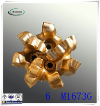 152mm 6 inch pdc bit with 7 wings for oil or water well drilling