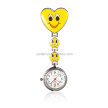 Smile Heart Nurse Pocket Watch Table Pocket Watches Clocks and Watches(WACH-N007-02F)