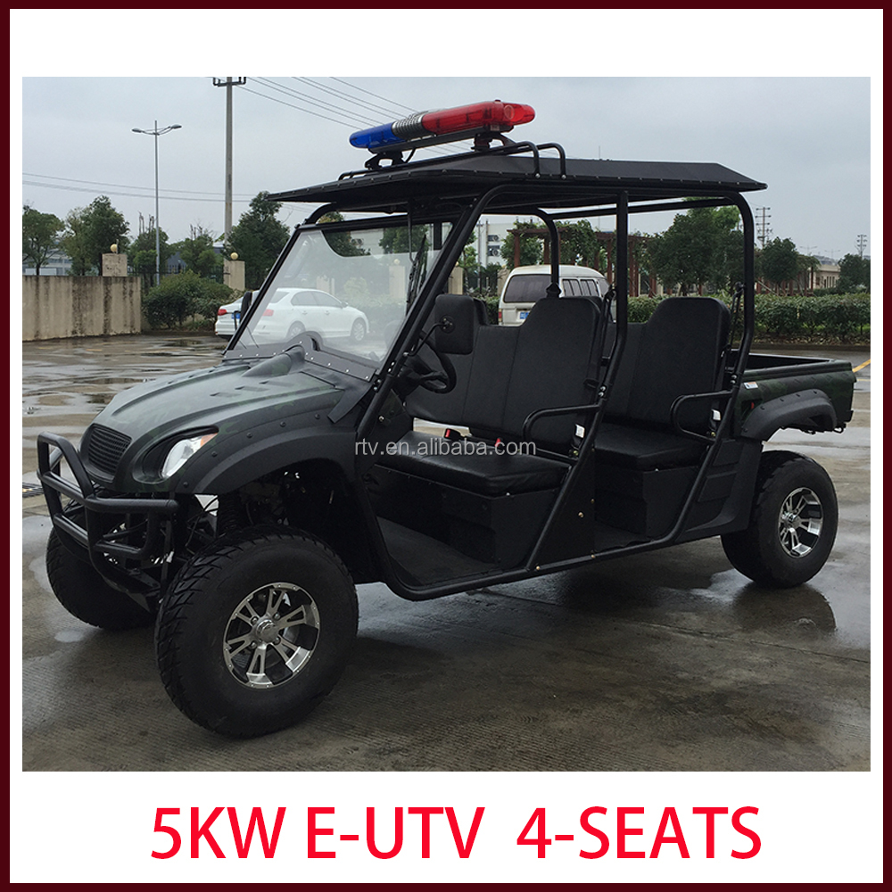 2016 new model electrical UTV 4WD 5kw 4-seats with cheap price good quality