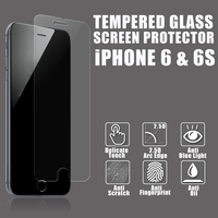 2016 New products explosion proof 9h tempered glass screen protector for apple iPhone 6