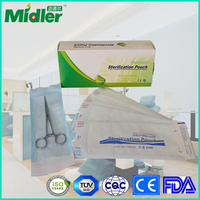 Medical autoclave sterilization pouch for gauze sponges supplier