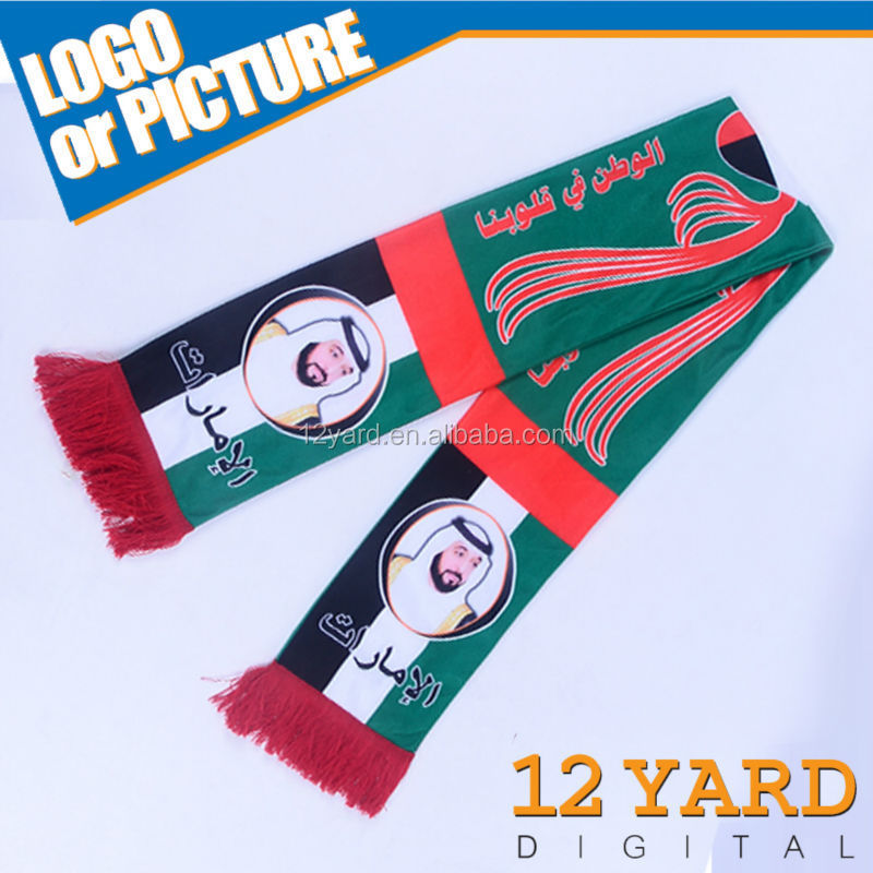 The Middle East united Arab emirates polyester religion scarf