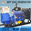 Customized silent 200kw wood gas generator price