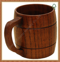Wooden beer mug wine cups Drinking cup