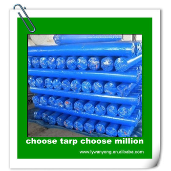 2x100M HDPE tarpaulin fabric in roll pe fabric