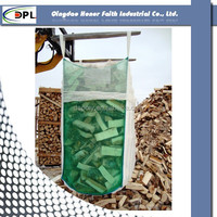 Reliable shandong manufacturer one ton bulk FIBC plastic bag for building material