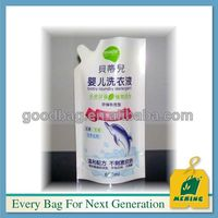 Manufacture baby laundry detergent doypack plastic compound packaging bags