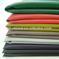 Gradient Color Thin PU Leather Fabric For Jacket