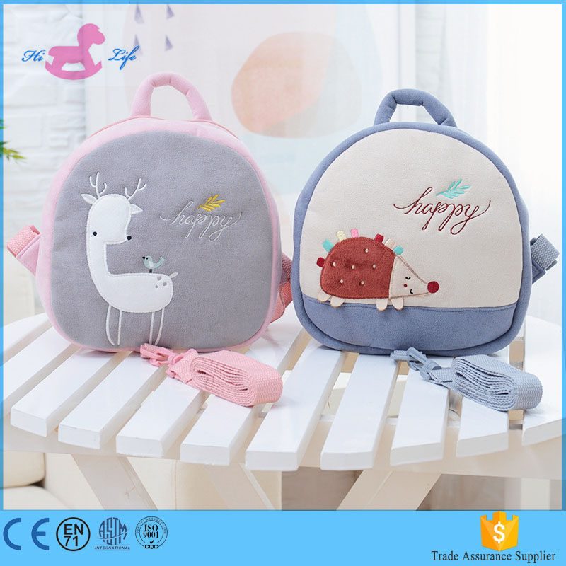 cute soft bags for kids backpack cartoon nohoo kids backpack