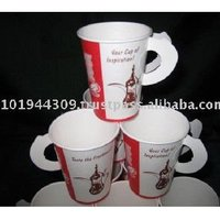 Saudi Arabia Royal 01209 White Single Wall Disposable Hot Drink Paper Cup