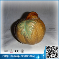 ceramic pumpkin for garden decoration