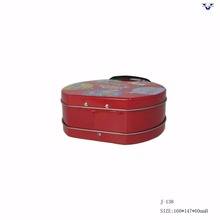 China Supplier custom wholesale tin lunch box/metal box With Factory Wholesale Price