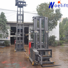 High quality new All terrain 3 way narrow aisle forklift for warehouse electric pallet stacker