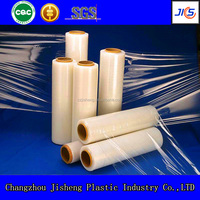 6000m length transparent pvc food grade stretch wrap film