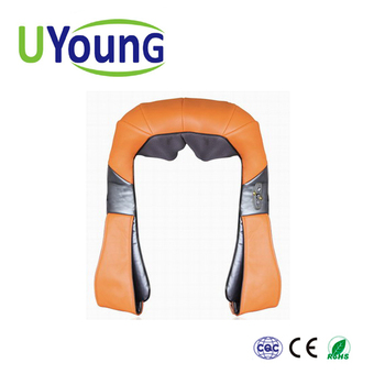 Kneading massage belt/shoulder massager