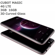 CUBOT MAGIC 4G Mobile Phone Android 7 unlocked 3GB RAM 16GB ROM Quad Core Smartphone Dual Back Cameras 5.0 inch Cell Phone