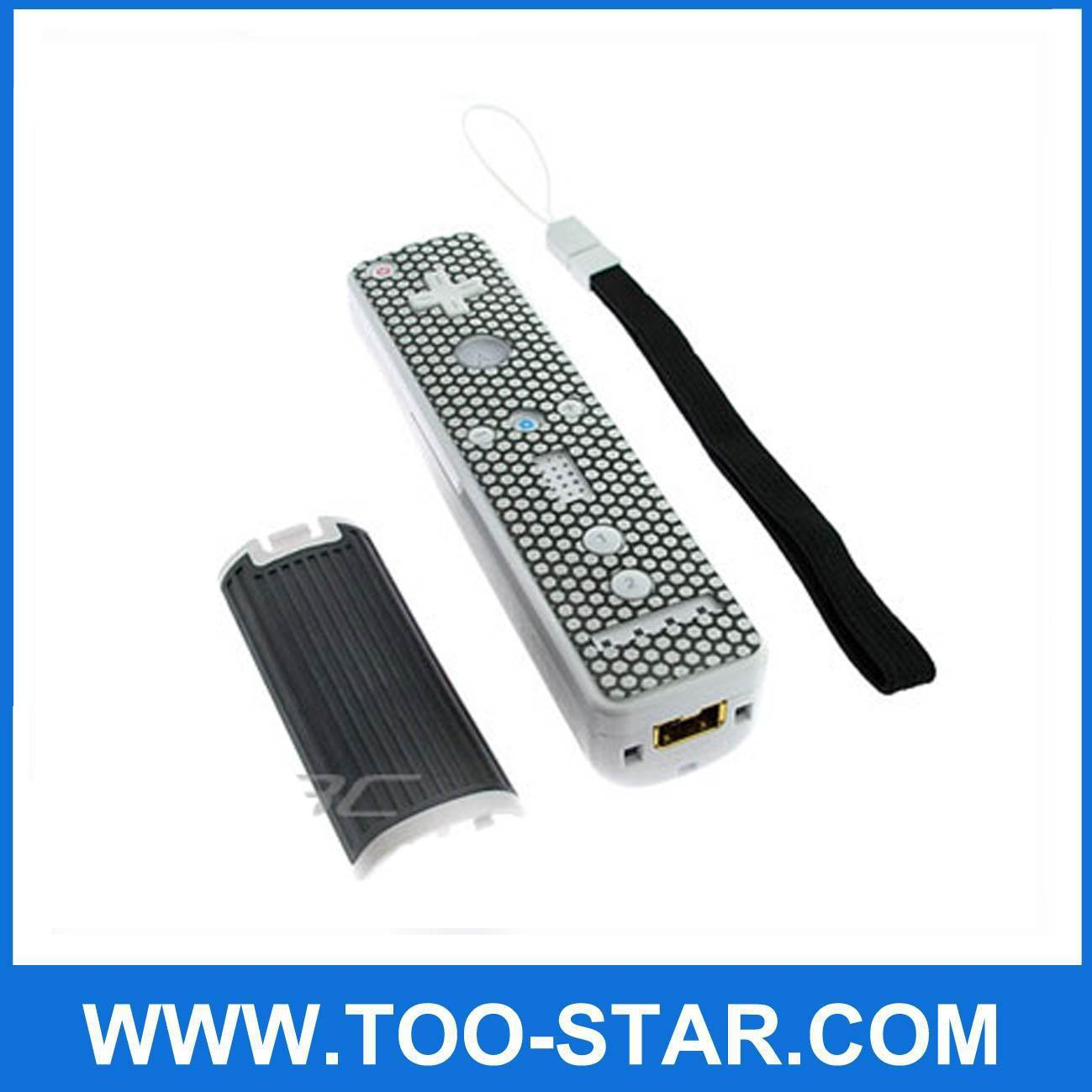 Remote Controller 3-In-1 Slippery Proof Kit for Nintendo Wii
