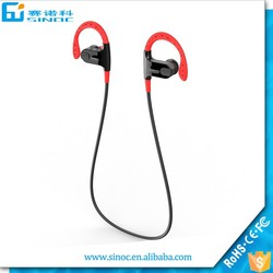 High quality wireless headphone sport in ear headphone stereo bluetooth headset with mp3 player