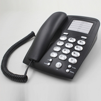 Hot cheap basic phone,telephone set used in home/office,hot new telephone