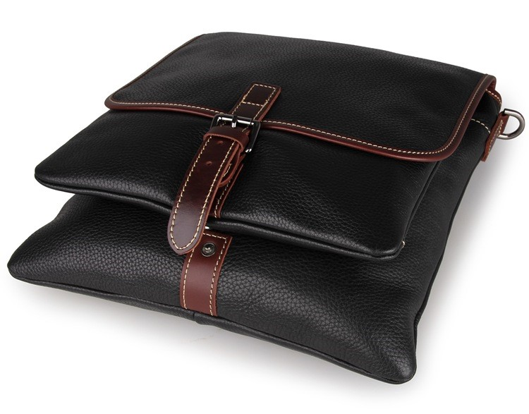 7312A JMD Vintage Tanned Leather Men's Messenger Sling Bag For Laptop