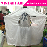 New Salon Barbers Hairdressing Cape Gown Hair Cutting Clothes with Viewing Window Hot