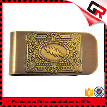 Promotion Cheap Custom Blank Metal Money Clip For Wholesale