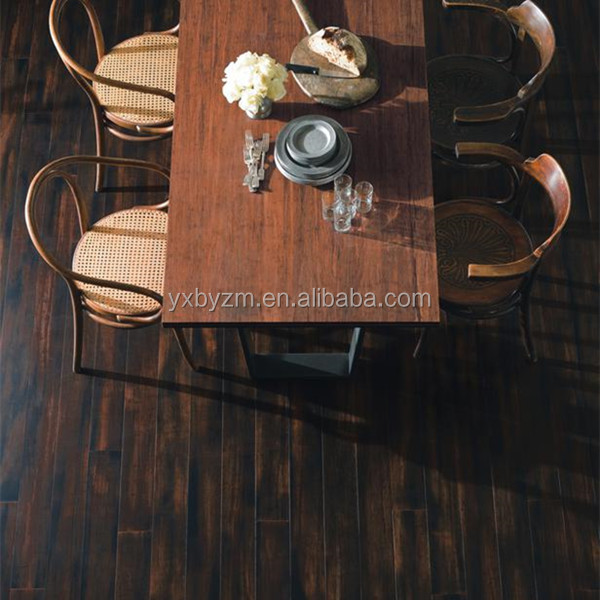 Eco forest bambus wooden floor strand bamboo click flooring