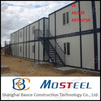 20 ft standard prefabricated modern homes for sale