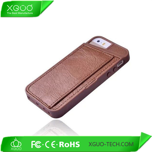 nice model tpu material hot selling wallet case for iphone 5