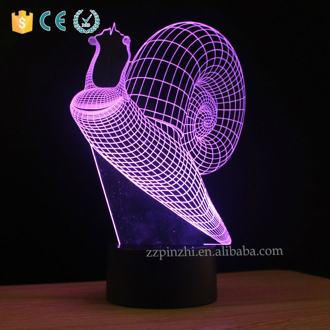 3D Cartoon Acrylic Desk Lamp